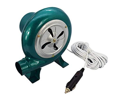 Yx-outdoor Soplador eléctrico de 12 V 60 W, para Barbacoa al Aire...