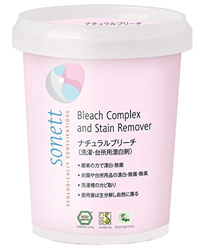 ソネット SONETT 酸素系漂白剤 洗濯 キッチン用 オーガニック ナチュラルブリーチ 450g