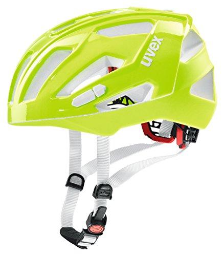 Uvex Quatro-xc Fahrradhelm, Grün (neon-lime), 52-57 cm