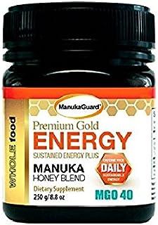 MANUKAGUARD PREMIUM GOLD ENERGY MGO 40 8.8 OZ. / 250G RAW MANUKA HONEY BLEND