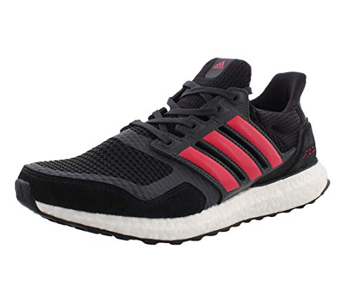 adidas Womens Ultraboost S&L Running Shoes Black/Red, 7.5