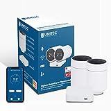UNITEC Smart Heizkörper-Thermostat Starter Set 2+1 mit LCD Display, automatische Temperatursteuerung