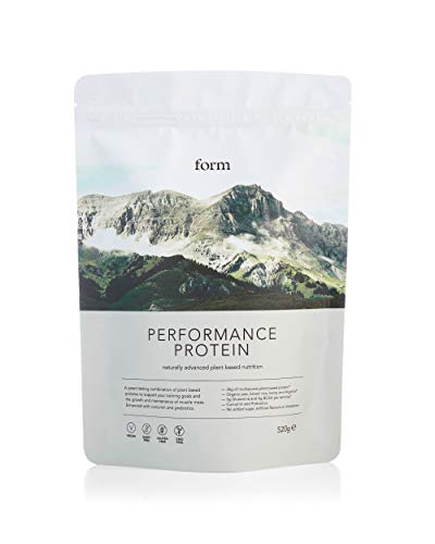 Form Performance Protein - Vegan Protein Powder - Complete Amino Acid Profile with BCAAs and Digestive Enzymes. Perfect Post Workout. Tastes Great with Just Water! (Tiramisu)