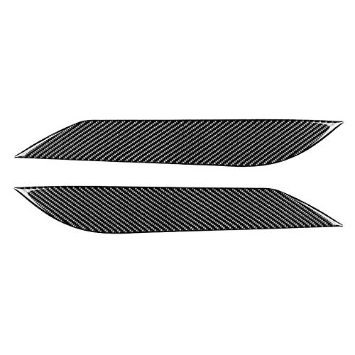 Rosilesi Scheinwerfer-Augenbraue - Paar Carbonfaser-Scheinwerfer-Augenbrauen-Augenlidverkleidung Passend für Nissan 350Z 2003-2009