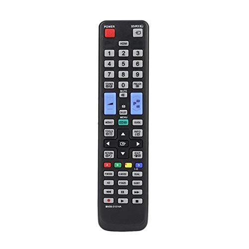 Reemplazo Universal del Control Remoto de Smart TV para Samsung BN59-01014A AA59-00508A AA59-00478A Controlador de televisión 3D - Negro 0