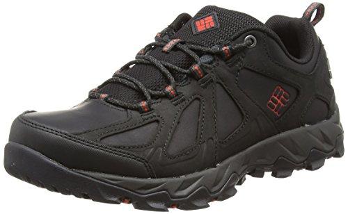 Columbia Peakfreak XCRSN II Low Leather Outdry, Zapatos para Hombre, Negro (BlackSuper Sonic 010), 42 EU