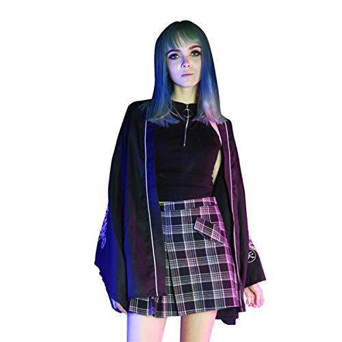 chique tiener meisjes geplooid rooster zwart rok, punk mini zoet heerlijk casual jurk vrouwen