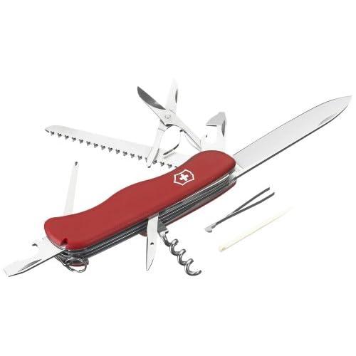 Victorinox, Coltello da Cucina Outrider Gross Blister, Rosso (Rot), Taglia Unica