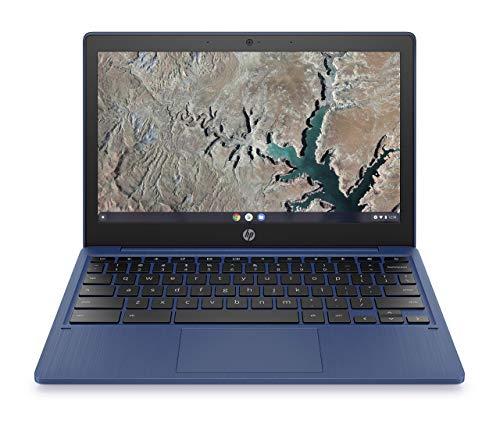 HP Chromebook 11.6in Touchscreen MediaTek MT8183 32GB SSD 4GB RAM Chrome OS Blue (Renewed)