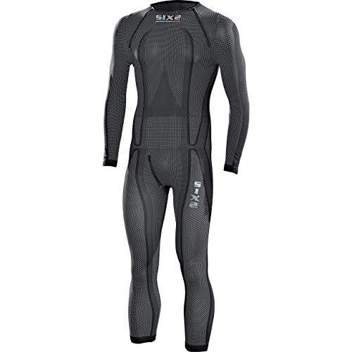 SIXS Erwachsene Stx, Carbon-Schwarz, Größe XL