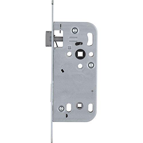 SECOTEC Einsteck-Schloss | Einstemm-Schlos | WC/Bad | ÖNORM | Dornmaß 50 mm | 1 Stück
