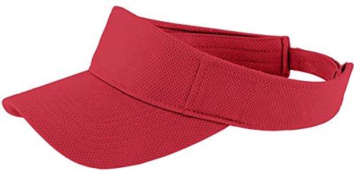 Sport-Tek® PosiCharge® RacerMesh™ Visor. STC27 True Red OSFA