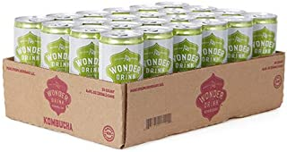 コンブチャワンダードリンク 約250ml缶 (アジアンペア&ジンジャー) (24缶(1箱))