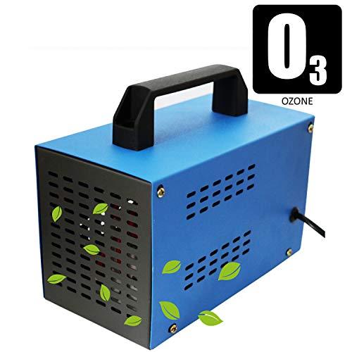 HR 10G Generador de ozono O3 03 ionizador Industrial Temporizador Azul 10,000mg