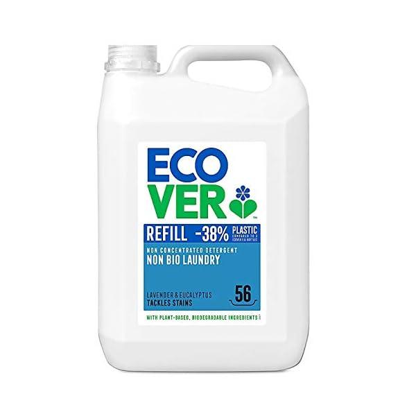 Ecover Non Bio Laundry Liquid Refill, 5 L