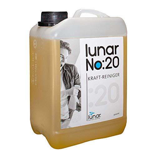 lunar. premium cleaning 3 Liter Kraftreiniger Allrounder Konzentrat Kanister Ergiebig mit Auslaufhahn Dosierbecher