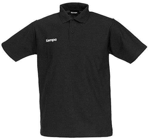 Kempa Polo Shirt, Schwarz, XS