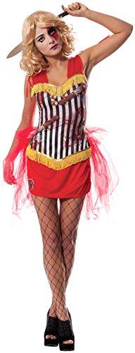 Rubie's officiële dames werper assistent Circus Zombie, volwassen kostuum - groot