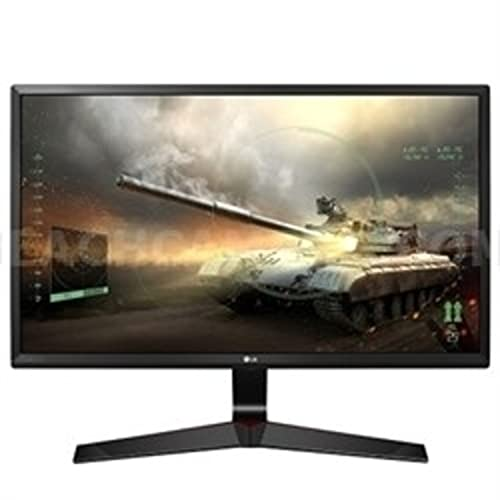 LG 24MP59G-P 60 cm (24 Zoll) Gaming Monitor (LED, IPS-Panel, AMD FreeSync, DisplayPort, 5ms Reaktionszeit)