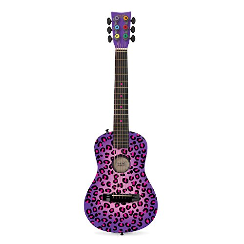 First Act Discovery FG3715 Purple Cheetah Acoustic Guitar