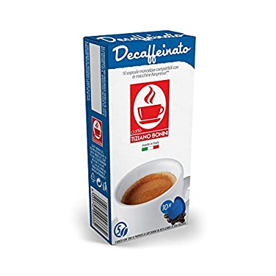 100 Nespresso* Compatible Decaffeinated Coffee Capsules, 10 Packs of Decaf Pods