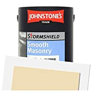 Water based paint for external walls Size:5L Colour: Parchment Coverage: up to 17m2/L