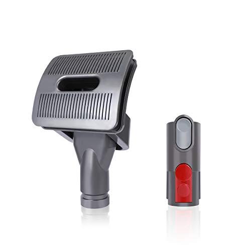 AIEVE Groom Hundebürste Ersatzbürste Ersatzteile Bürste für Dyson V11 V10 V8 V7 V6 Handstaubsauger mit Quick Release Adapter Konverter