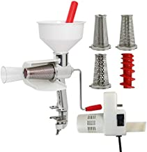 Model 250 Food Strainer and Sauce Maker, Electric Motor, and Accessories 4-Pack
