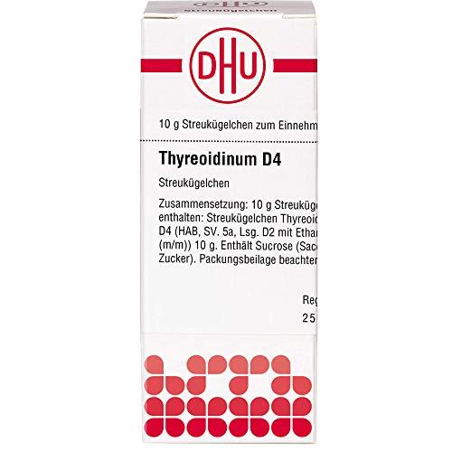THYREOIDINUM D 4 Globuli 10 g Globuli