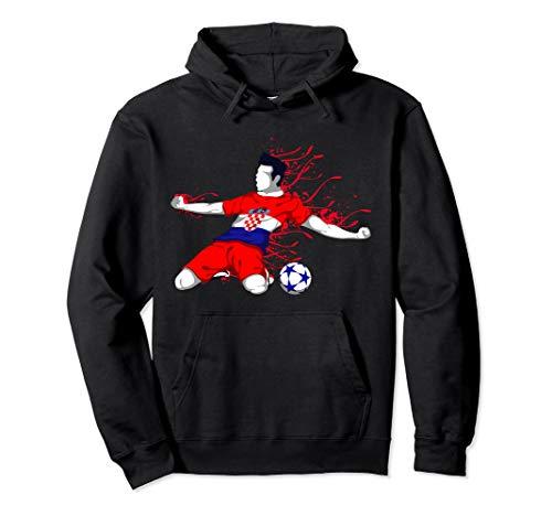 Croatia National Soccer Team Jersey Croatian Football Gifts Pullover Hoodie