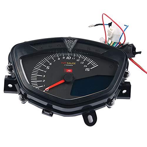 Notewisher para LC135 V1 TacóMetro de Motocicleta de Temperatura Medidor de VelocíMetro...