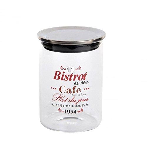 dcasa - Bote de cocina cristal letras vintage para decoración Factory 500...