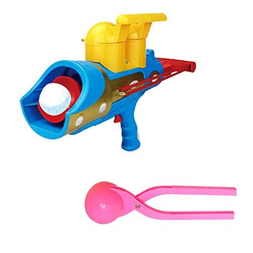 Schneeballwerfer Runde Schneeballmacherform Mit Griff Perfekt, Schneeballwerfer Für Innen- Oder Außenschneekampfspiel Für Kinder Erwachsene