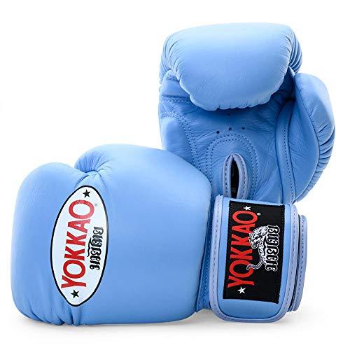 YOKKAO Matrix Atmungsaktive Muay Thai Boxhandschuhe – Schwarz, Rot, Blau, Weiß, Gelb, Grün, Grau, Petroleum, 227 g, 283 g, 340 g, 397 g, 453 g