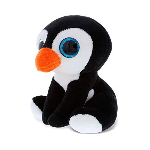 Dollibu Sparkling Big Eye Penguin Wild Stuffed Animal Soft Plush Collection, Storytime Buddy, Antarctic Snow Penguin Plushie Figure, Peekaboo Critters Nursery Baby Toys for Girls & Boys -Large Penguin