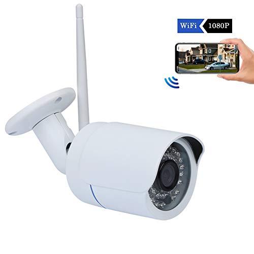 Nestling® Überwachungskamera Aussen,WLAN Kamera 1080p Hd Wasserdicht,Pir Bewegungserkennung Mit Nachtsicht Maximale UnterstüTzung 128g Speicherkarte(Kostenlose 16G Speicherkarte)