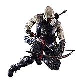 HJGHY Assassin's Creed Connor Kenway Action Figure - Modello - Giocattolo per Bambini 28cm
