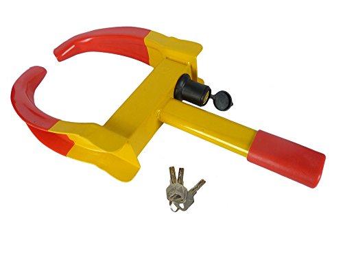 Hyfive Sabot de Roue de Voiture Ultra résistant avec clés