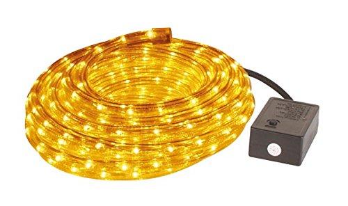 HQ Power vdlrl28y Tuyau lumineux avec prise étanche et appareil de commande, 2 canaux, 8 m Longueur x Diamètre 13 mm, jaune