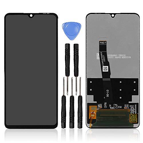 """LL TRADER Display per Huawei P30 Lite / P30 Lite New Edition Schermo 6.15"""" Touch Screen Vetro Ricambio Retina LCD Digitizer Accessori con Strumenti"""