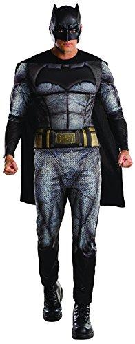 Batman Déguisement Hommes Robe Clair of Justice Super héros BD Film Costumes Adultes - Noir, Hommes 40/42