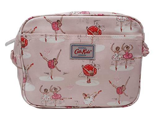 Cath Kidston Mini bolso de mano para niños con refuerzo en hule rosa pálido