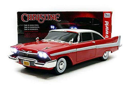 1/18 58 Plymouth Fury Stephen King Christine Die Cast Movie Car, Multicolored (AWSS102)