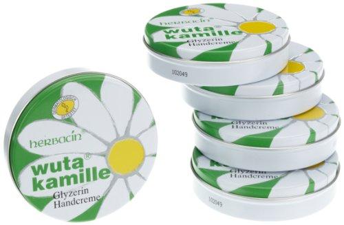 Wuta Kamille Handcreme Dose, 5er Pack (5 x 75 ml)