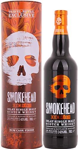 Smokehead RUM RIOT Islay Single Malt Scotch Whisky (1 x 0.7 l)