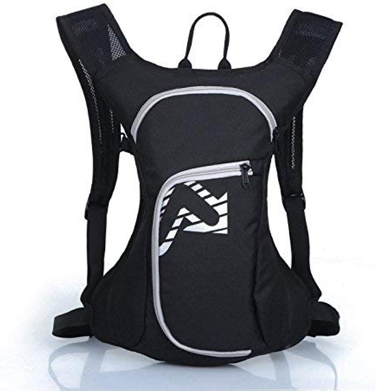 Lounayy Wasserdichter Rucksack Sport Bergsteigen Freien Wandern Im Stylisch Mode Nachhaltig Rucksack Daypack Fashion Backpack Tagesrucksack (Farbe   grau, Größe   One Größe)