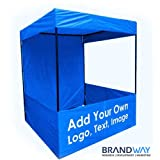Brandway Promotional Canopy 6 X 6 X 7 with Blue Color Tetron (Blue)