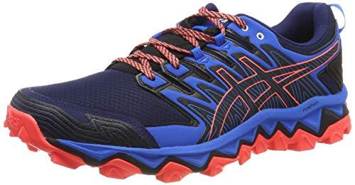 Asics Gel-Fujitrabuco 7, Zapatillas de Entrenamiento Hombre, Bleu Foncã/Bleu Ãlectrique, 41.5 EU