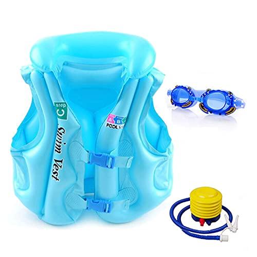 Yeah-hhi Flotador Inflable de la Piscina Hamaca de la Piscina Multiuso Sillón de salón Flotante Silla de Fila Flotante Plegable Inflable,Azul,One Size