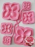 stafil Set da 3 STAMPI per Petali di Rosa Art.31114